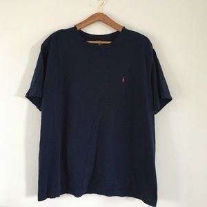 POLO Ralph Lauren Men's Navy Blue XL Tee Shirt